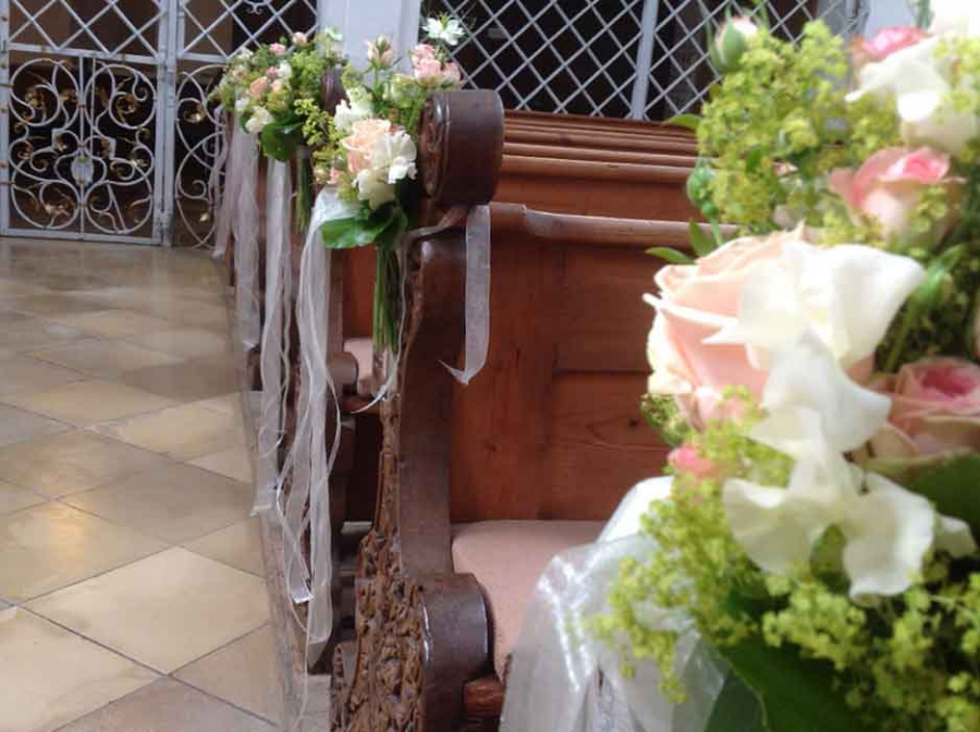 Kirchenschmuck Blumen